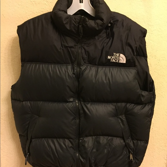 The North Face Nuptse Down Puffer Vest With Hoodie.  M 5a6cc25ba44dbe2c582adce1 727b7f29f